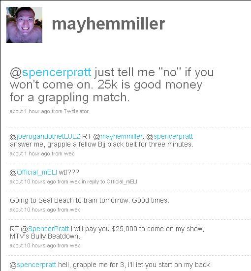 Jason Mayhem Miller (mayhemmiller) on Twitter