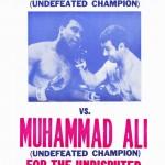 muhammed ali vs rocky marciano poster